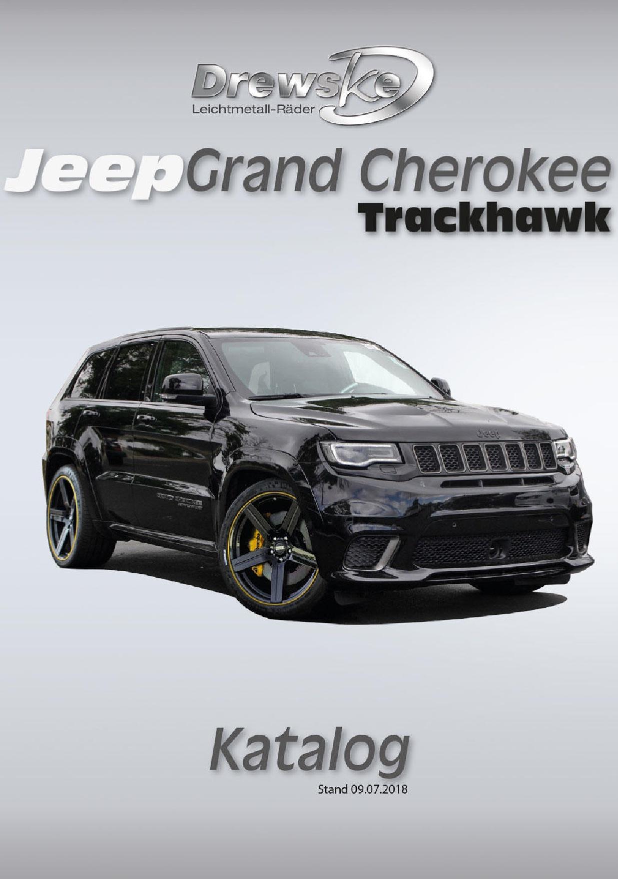 Drewske Tuning GmbH Jeep Grand Cherokee Trackhawk Katalog
